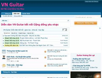vnguitar.net screenshot