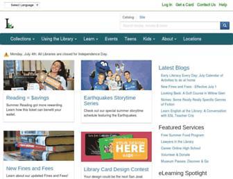 Thumbshot of Sjpl.org