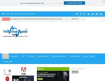 thevirtualassist.net screenshot