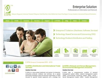 e-spincorp.com screenshot