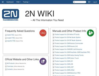 2nwiki.2n.cz screenshot