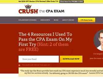 crushthecpaexam.com screenshot
