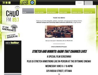 chuo.fm screenshot