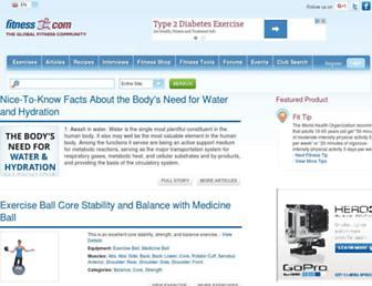 Thumbshot of Fitness.com