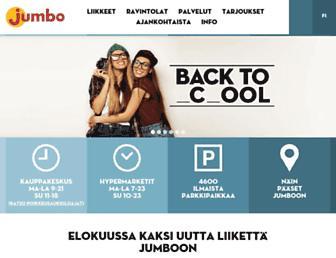 Main page screenshot of jumbo.fi