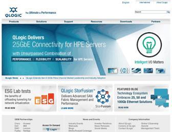 Thumbshot of Qlogic.com