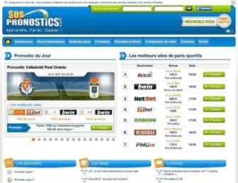sospronostics.com screenshot