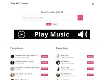 bladimp3.com screenshot