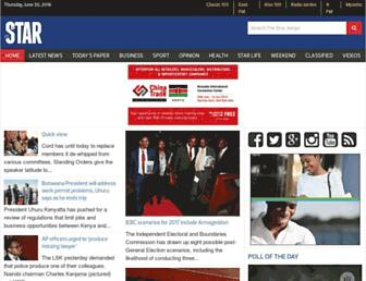 the-star.co.ke screenshot