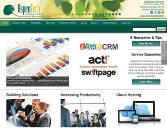 aspen-tech.com screenshot
