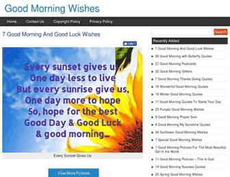 goodmorningwishes.org screenshot