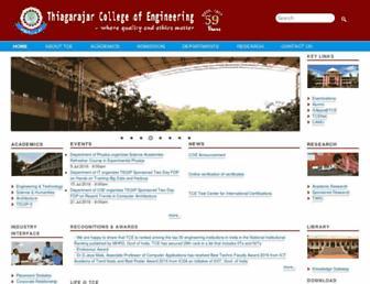 tce.edu screenshot