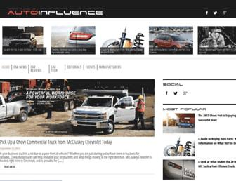 autoinfluence.com screenshot