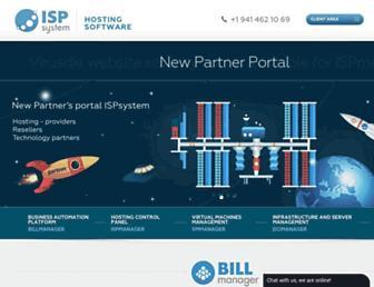 Thumbshot of Ispsystem.com