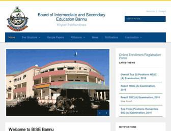 biseb.edu.pk screenshot
