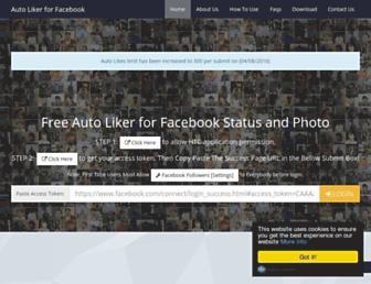 autolikerforfb.com screenshot