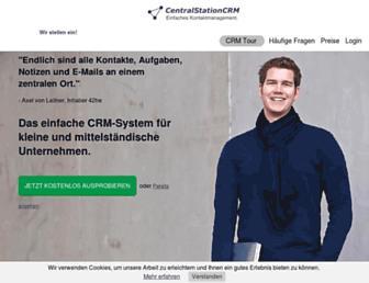 centralstationcrm.de screenshot