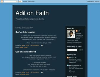 adilonfaith.blogspot.com screenshot