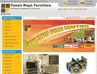 panenrayafurniture.com screenshot