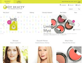 juicebeauty.com screenshot