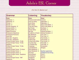 Thumbshot of Adelescorner.org