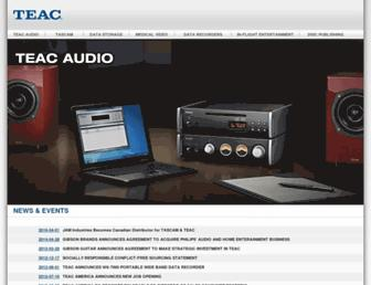 Thumbshot of Teac.com