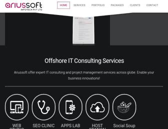 ariussoft.com screenshot