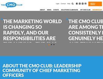 thecmoclub.com screenshot