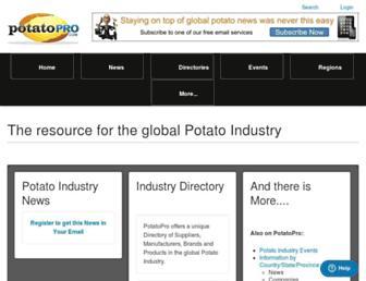 potatopro.com screenshot