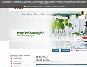 axis.pl screenshot