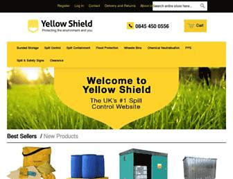 Thumbshot of Yellowshield.co.uk