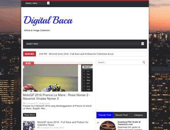 digitalbaca.com screenshot