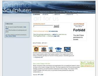 originalsculptures.net screenshot