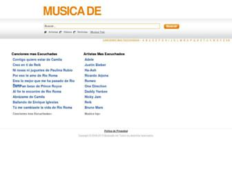 musicade.net screenshot