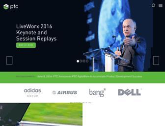 ptc.com screenshot