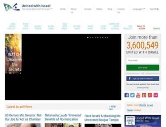 Thumbshot of Unitedwithisrael.org