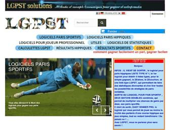 logiciels-gagner-paris-sportifs-turf.com screenshot
