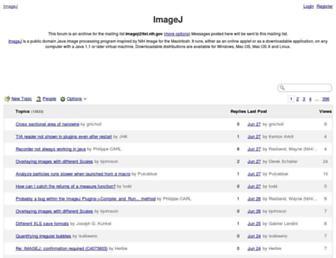 imagej.1557.x6.nabble.com screenshot
