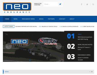 neo-endurance.com screenshot
