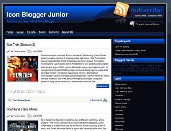 icon-blogger.blogspot.com screenshot