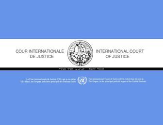 Thumbshot of Icj-cij.org