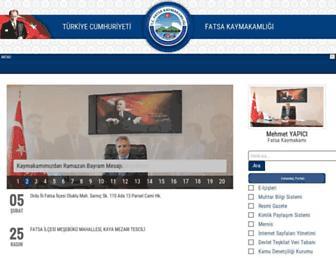 fatsa.gov.tr screenshot