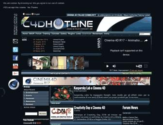 c4dhotline.com screenshot
