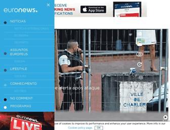 pt.euronews.com screenshot