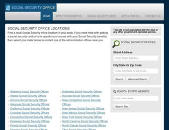 Thumbshot of Socialsecurityofficelocation.net