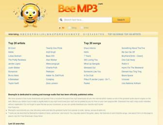m.beemp3s.org screenshot