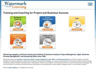 watermarklearning.com screenshot