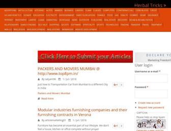 Thumbshot of Herbaltricks.com