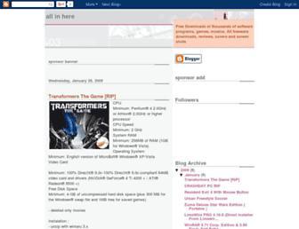 software-free-dahlia.blogspot.com screenshot