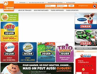 jeux.loro.ch screenshot